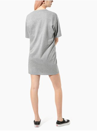 Šedé dámské šaty VANS Center Vee Tee