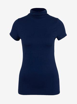 Tmavě modré tričko s rolákem CAMAIEU