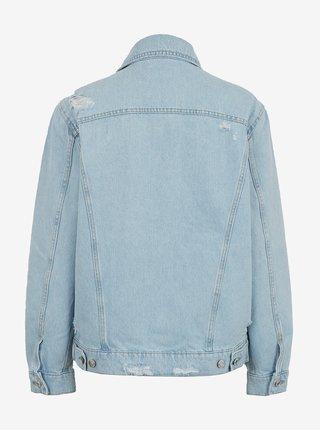 Světle modrá džínová bunda TALLY WEiJL