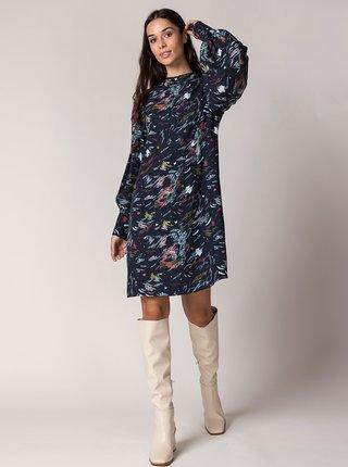 Voľnočasové šaty pre ženy SKFK - tmavomodrá