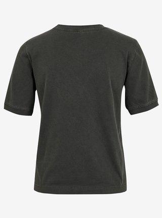 Tmavě šedé tričko Jacqueline de Yong Darling