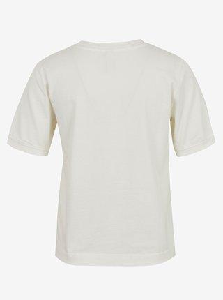 Krémové tričko Jacqueline de Yong Darling