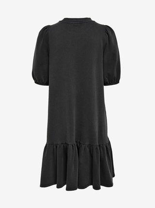 Tmavě šedé šaty ONLY Lucinda