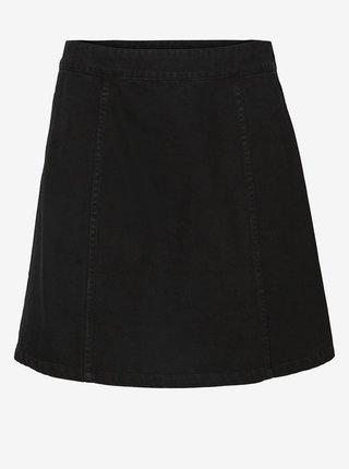 Čierna rifľová sukňa Noisy May Peri