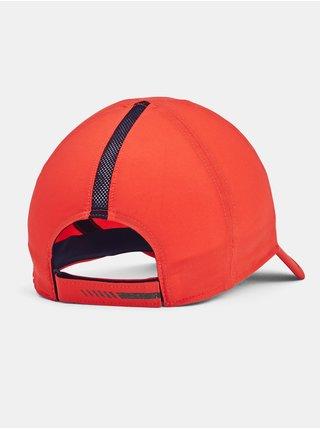 Kšiltovka Under Armour UA Run Shadow Cap - oranžová