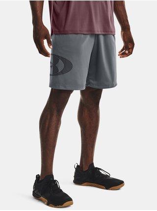 Kraťasy Under Armour UA Tech Lockertag Shorts - šedá