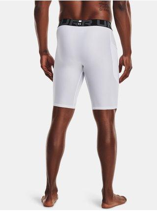 Kompresní šortky Under Armour HG Armour Lng Shorts - bílá