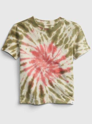 Barevné klučičí dětské tričko print t-shirt GAP
