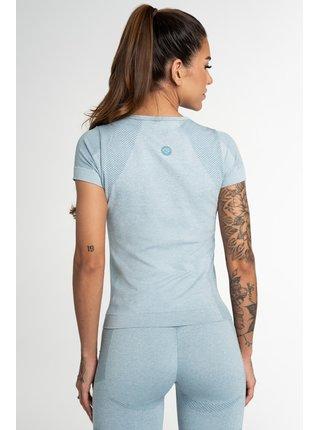 Tričko Gym Glamour Bezešvé Fusion Blue
