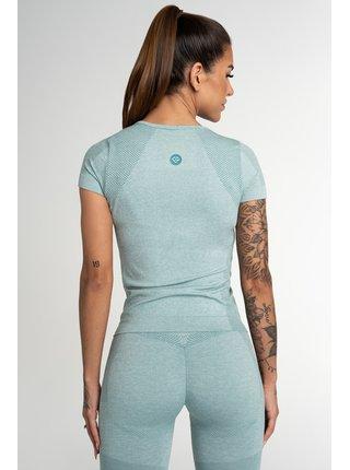 Tričko Gym Glamour Bezešvé Fusion Green