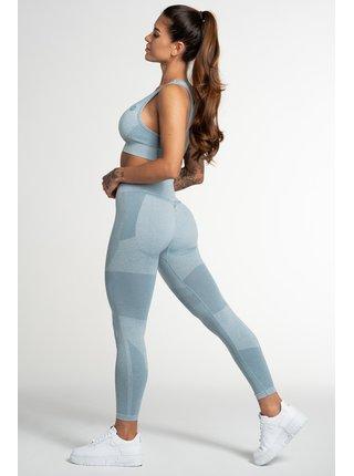 Legíny Gym Glamour Bezešvé Fusion Blue