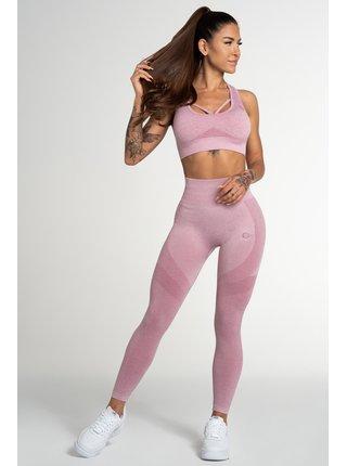 Legíny Gym Glamour Bezešvé Fusion Pink