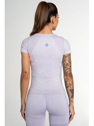 Tričko Gym Glamour Bezešvé Fusion Lavender
