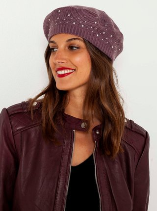 Čiapky, čelenky, klobúky pre ženy CAMAIEU - tmavofialová
