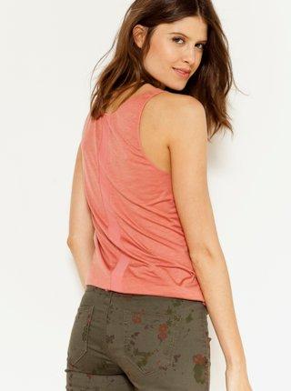 Topy a tričká pre ženy CAMAIEU - staroružová
