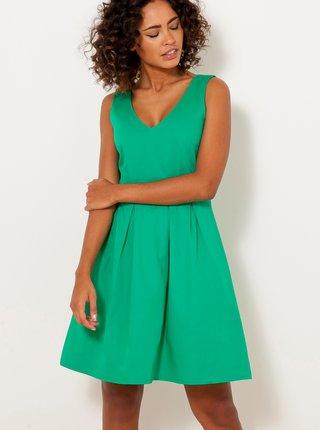 Zelené šaty CAMAIEU