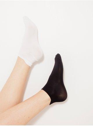 Ponožky pre ženy CAMAIEU - biela, čierna