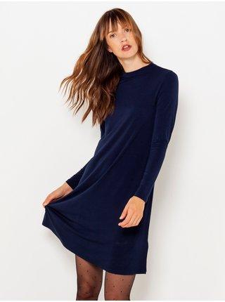 Tmavě modré basic šaty CAMAIEU