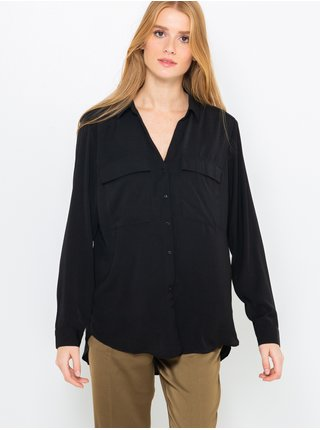 Černá dlouhá košile CAMAIEU