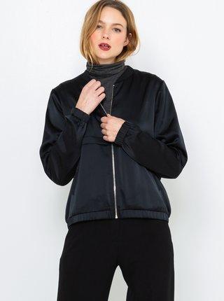 Černá bunda s motivem na zádech CAMAIEU
