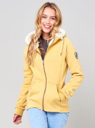 Žlutá dámská mikina s kapucí Rip Curl