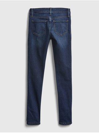 Modré holčičí džíny basic skinny