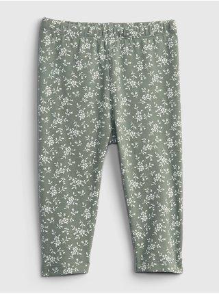 Zelené holčičí legíny july pants
