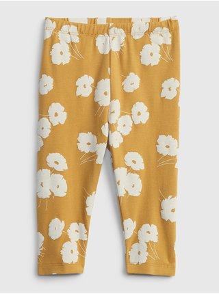 Žluté holčičí legíny july pants