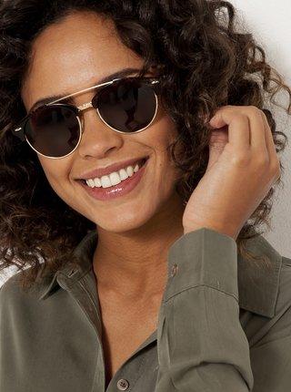 Černé sluneční brýle CAMAIEU