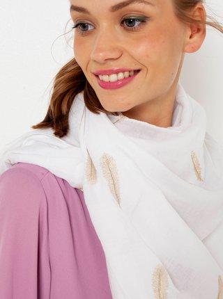 Bílý šátek CAMAIEU