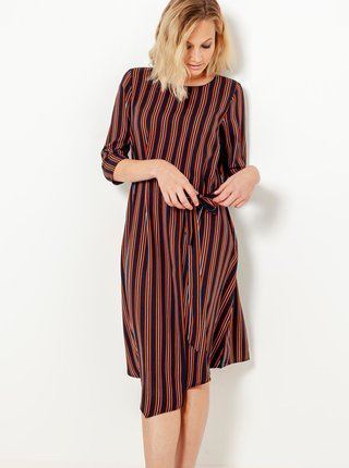 Šaty na denné nosenie pre ženy CAMAIEU - červená, čierna