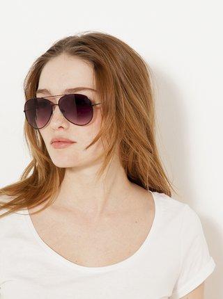 Slnečné okuliare pre ženy CAMAIEU - čierna, vínová