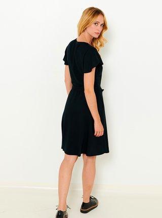 Černé propínací šaty CAMAIEU