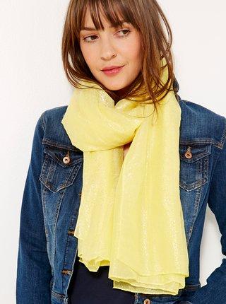 Žlutý šátek CAMAIEU