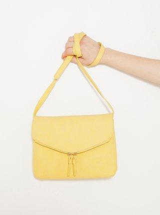 Žlutá crossbody kabelka CAMAIEU