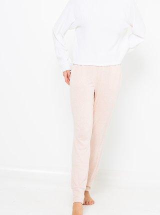 Světle růžové pyžamové kalhoty CAMAIEU
