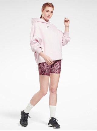 Mikiny pre ženy Reebok - ružová