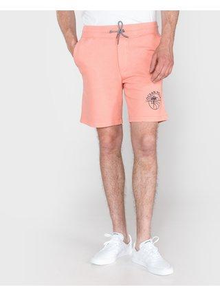 Kraťasy pre mužov Jack & Jones - oranžová
