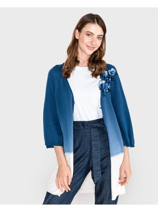 Kardigany pre ženy TWINSET - modrá