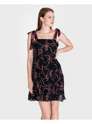 Šaty na denné nosenie pre ženy Pinko - čierna, modrá
