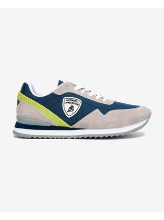 Tenisky, espadrilky pre mužov Lamborghini - modrá, sivá