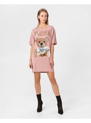 Šaty na denné nosenie pre ženy Moschino - ružová