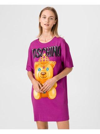 Šaty na denné nosenie pre ženy Moschino - fialová