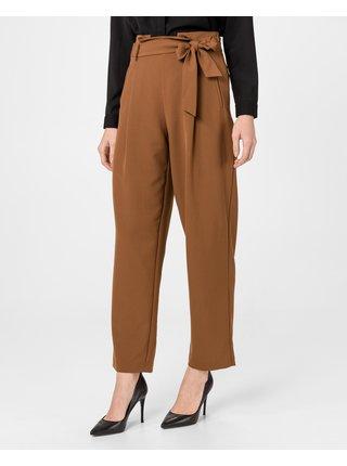 Nohavice pre ženy VERO MODA - hnedá