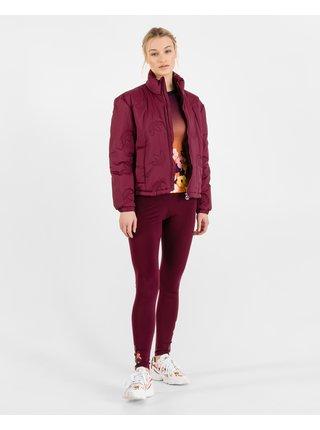 Ľahké bundy pre ženy adidas Originals - červená
