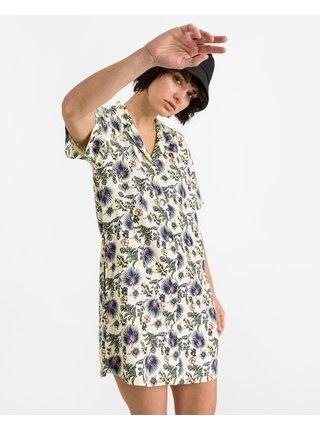 Košeľové šaty pre ženy VANS - žltá