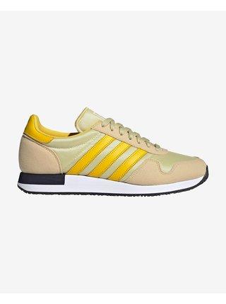 Tenisky, espadrilky pre mužov adidas Originals - žltá