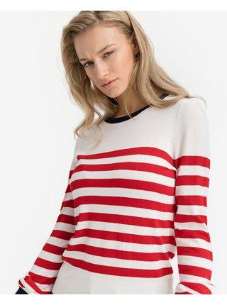 Svetre pre ženy VERO MODA - červená, biela