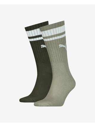 Crew Heritage Stripe Ponožky 2 páry Puma