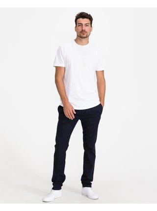 Chino nohavice pre mužov Tom Tailor Denim - modrá